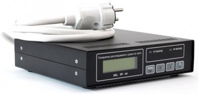 Устройство защиты цепей электросети и заземления (генератор регулируемого шума по электросети) SEL SP–44