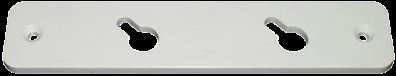 Фиксатор блока тип 10м (пластина)